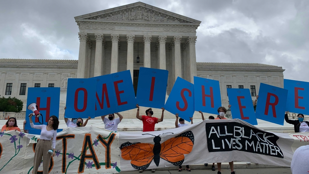 'Dreamers' cheer US court ruling on young immigrants' protections | News
