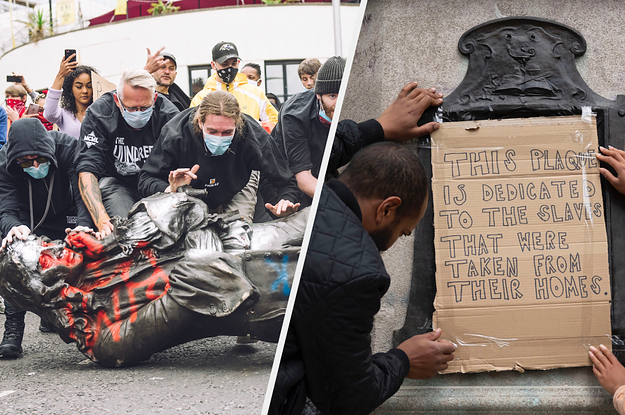 Statues Beheaded, Torn Down In US And UK Amid Black Lives Matter Protests