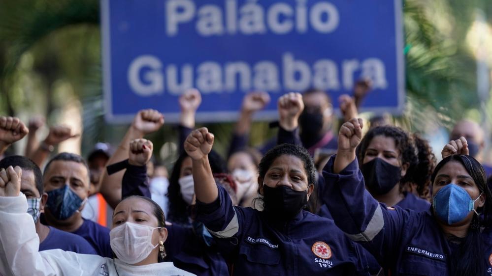 Brazil coronavirus death toll nears 50,000: Live updates | News