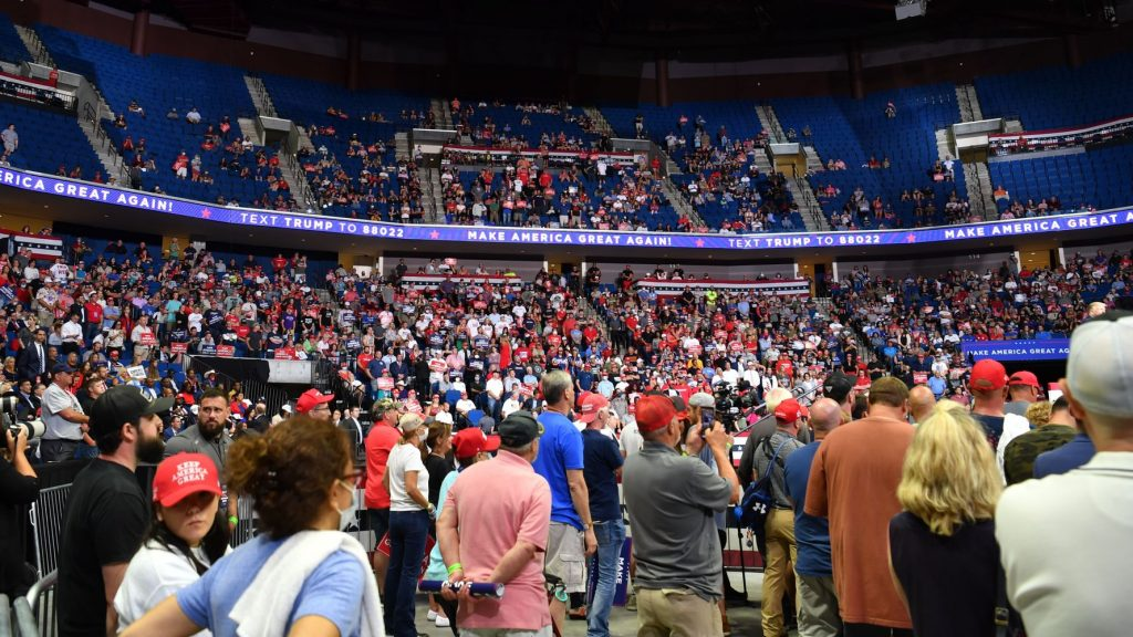 Zoomers Boast They Sabotaged Trump Rally Turnout With Fake Reservations