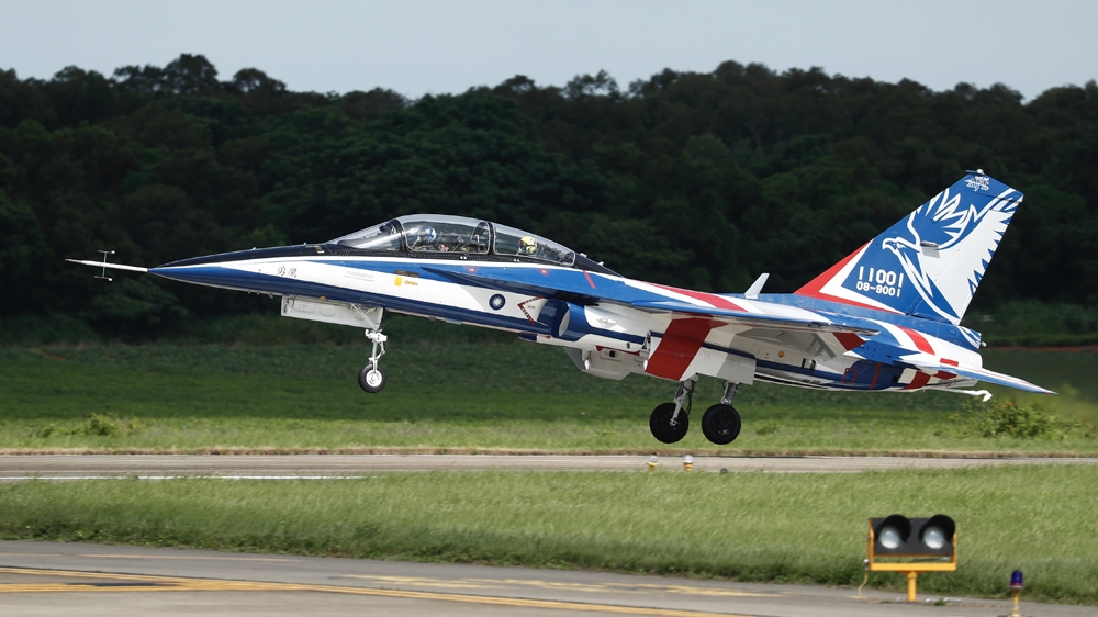 Taiwan boosts domestic defence with flight of new jet trainer | News