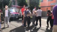 Evacuations in Mexico City after the earthquake shook the capital city.