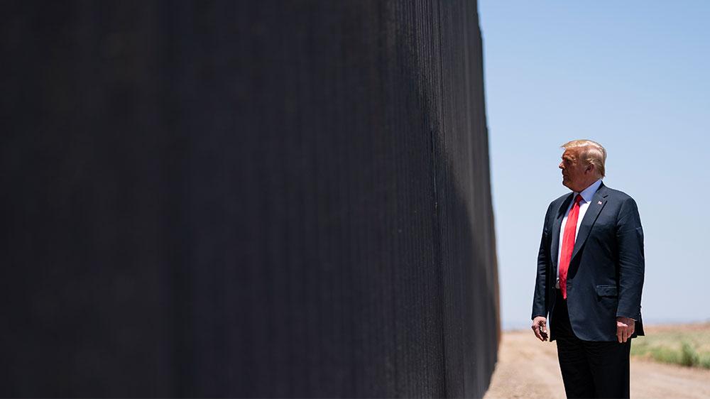 Trump in Arizona: My border wall stopped the coronavirus | Trump News