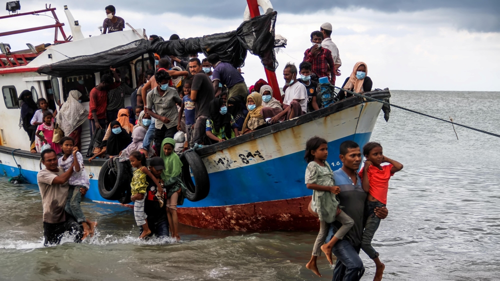'Best of humanity': Indonesian fishermen rescue stranded Rohingya   News