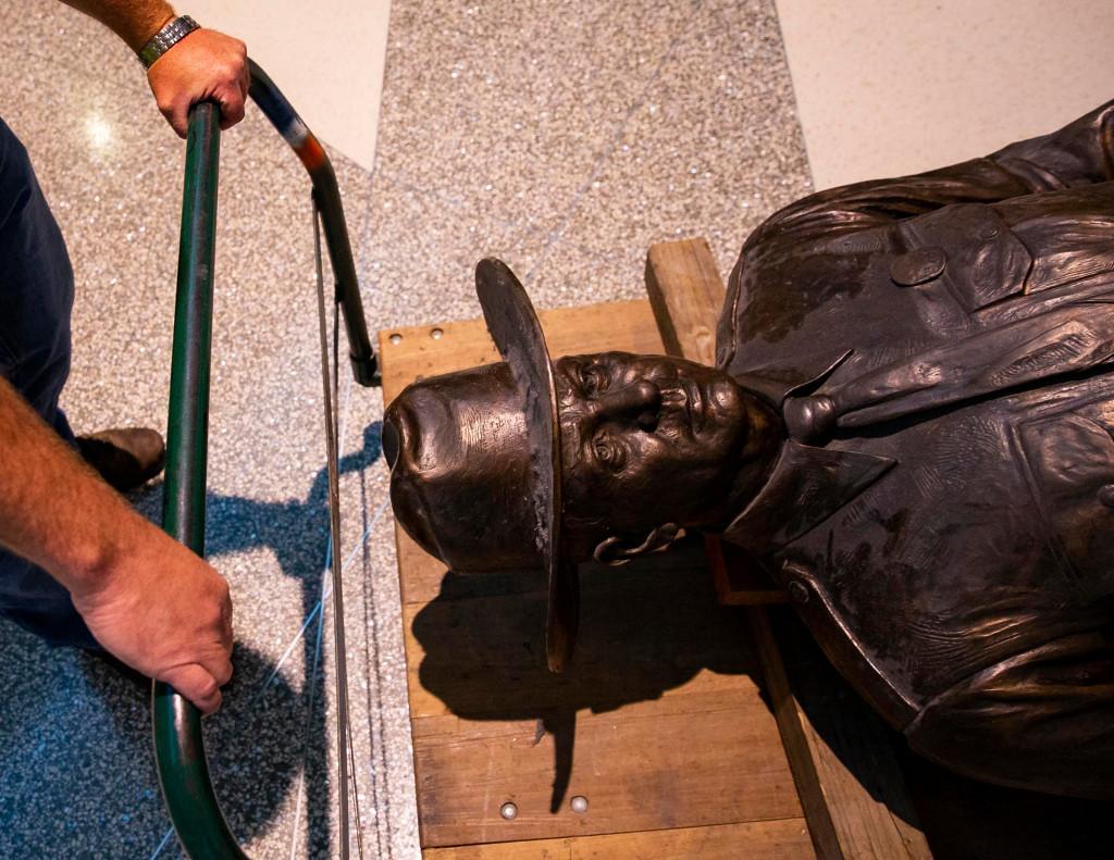 Amerikkapirattasts-Texas-Statue