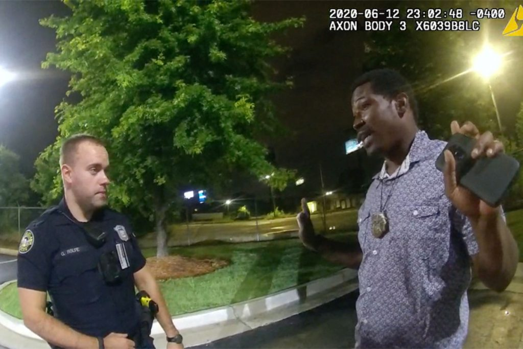 Atlanta cops call out after charges in Rayshard Brooks death