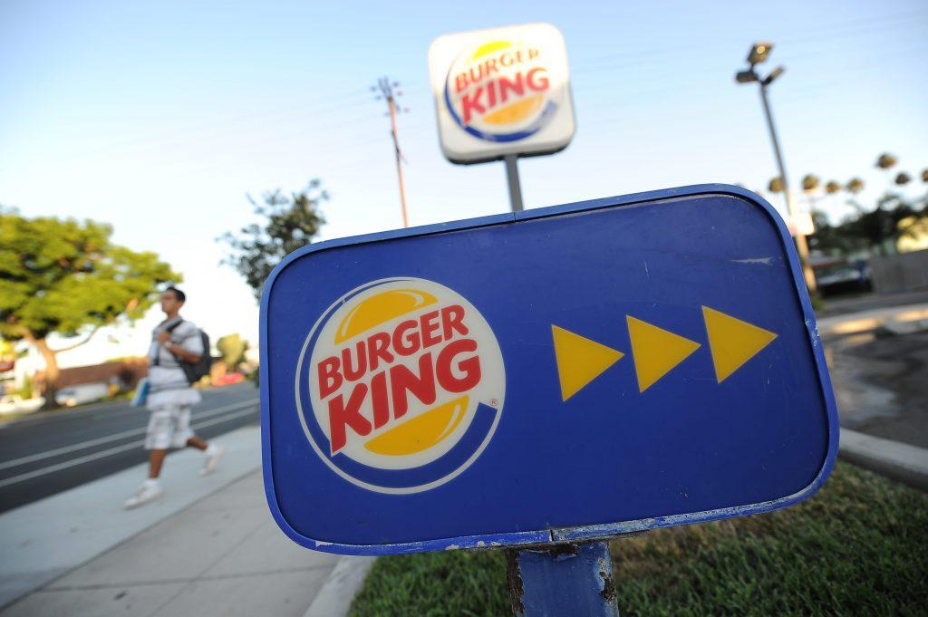 Burger King's U.S. same-store sales are flat as fast-food customers return