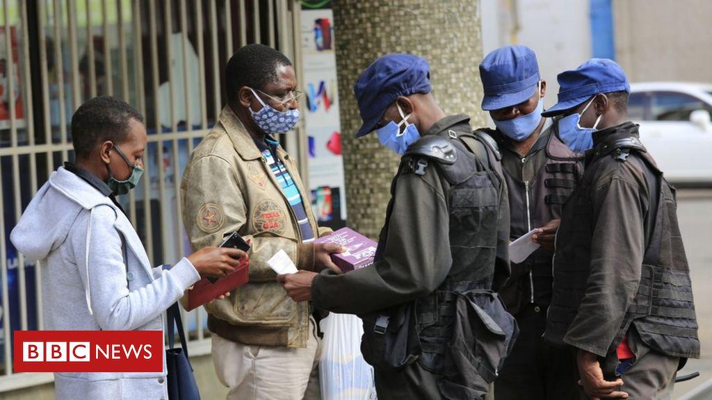 Coronavirus: Zimbabwe health minister in court on corruption charges