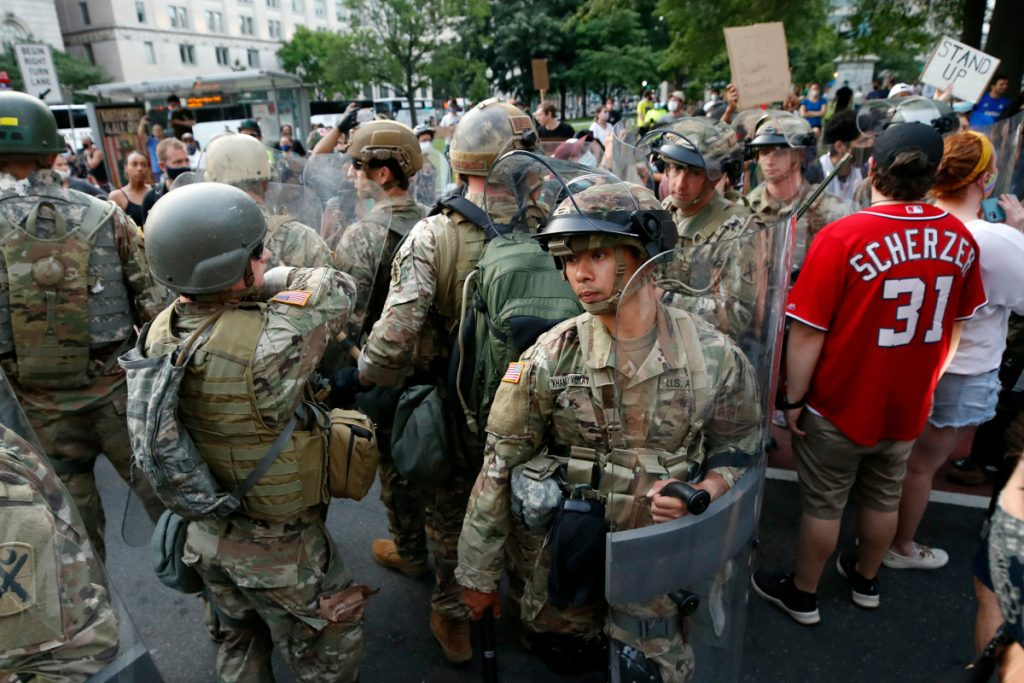 National Guardsmen found glass in pizza they ordered in DC