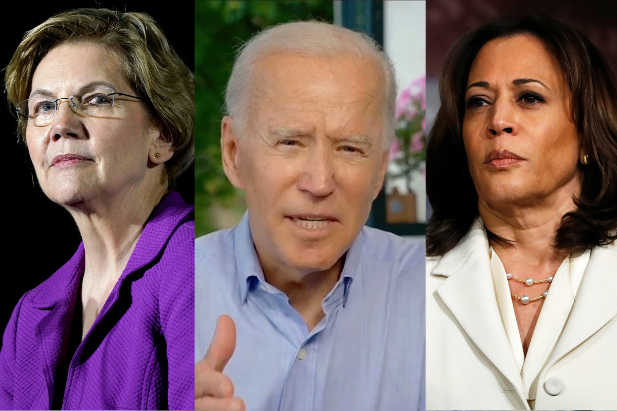 Did Joe Biden's potential running mates shrink into two contenders?
