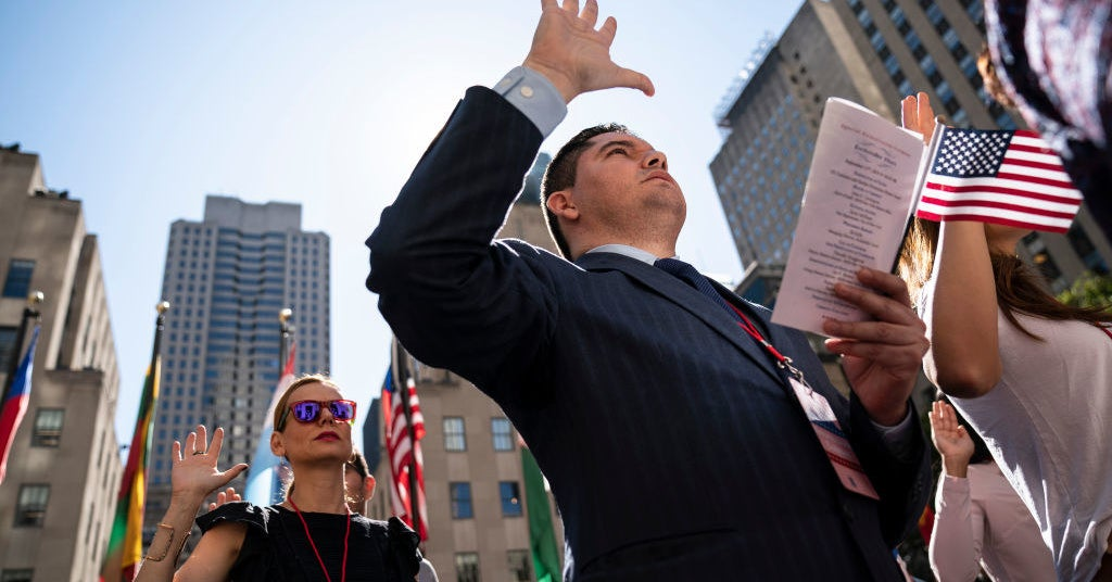 Immigrants Sue To Be Naturalized In Time To Vote In Presidential Election