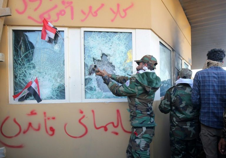 In first, Iraq detains pro-Iran fighters accused of anti-US rockets