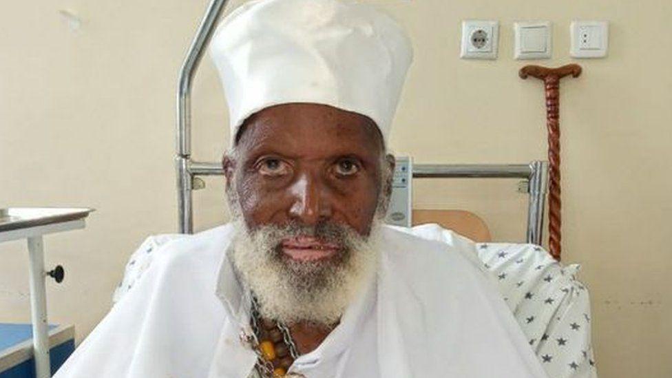 Aba Tilahun in hospital