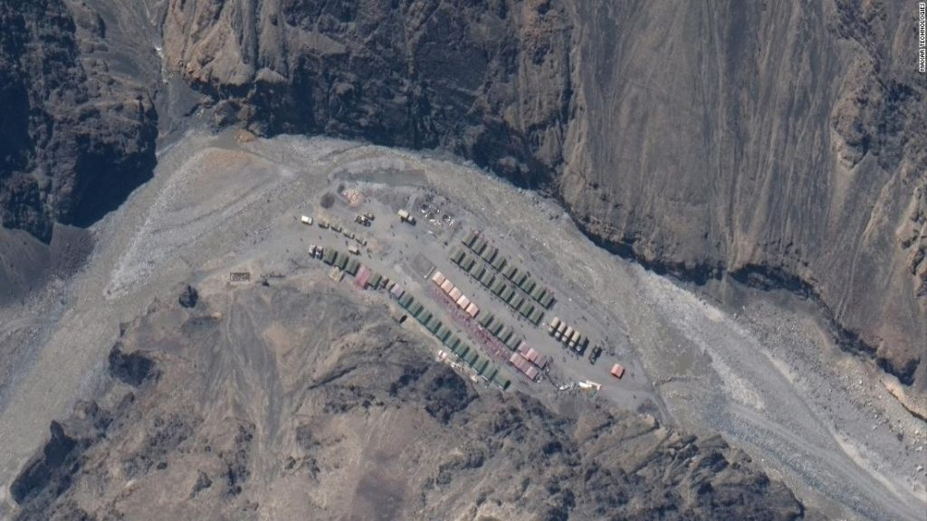 India-China border: Satellite images show buildup at site of deadly clash