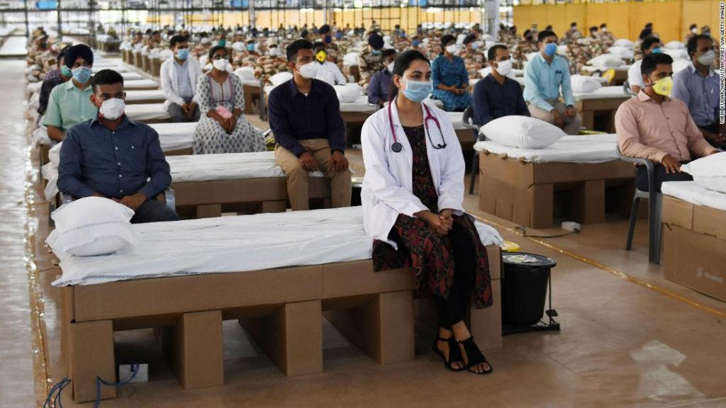 India coronavirus: Country opens of one of the world's largest hospitals