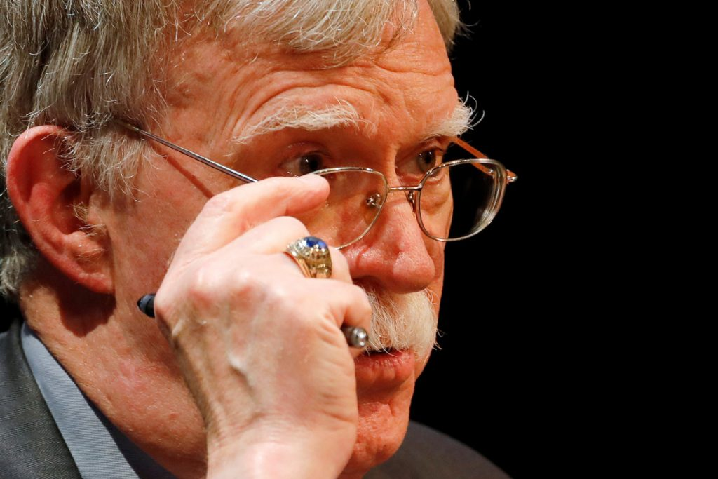 Justice Department sues to block John Bolton's tell-all book
