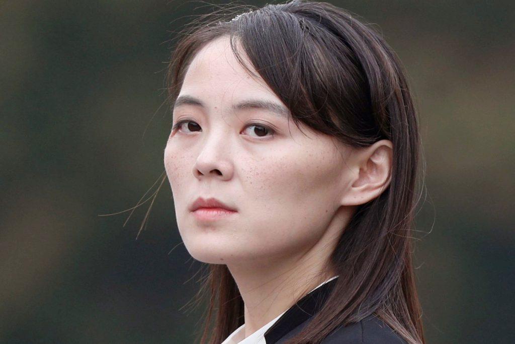 Kim Jong Un's sister threatens South Korea with military action