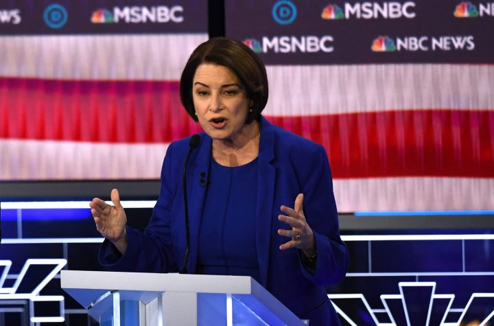 Klobuchar withdraws from veepstakes, says Biden should pick woman of color