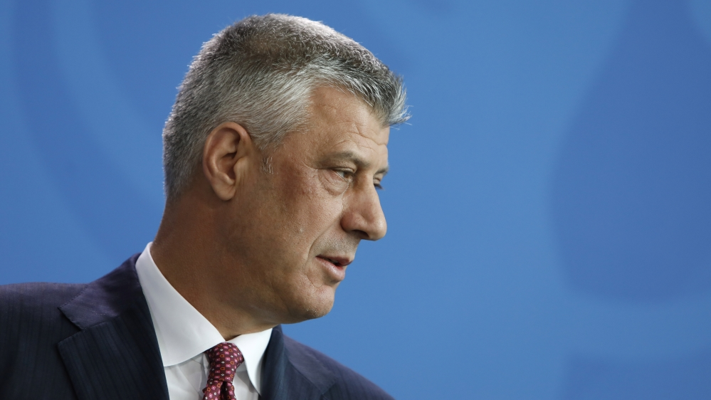 Kosovo's President Thaci, nine others indicted for war crimes | News