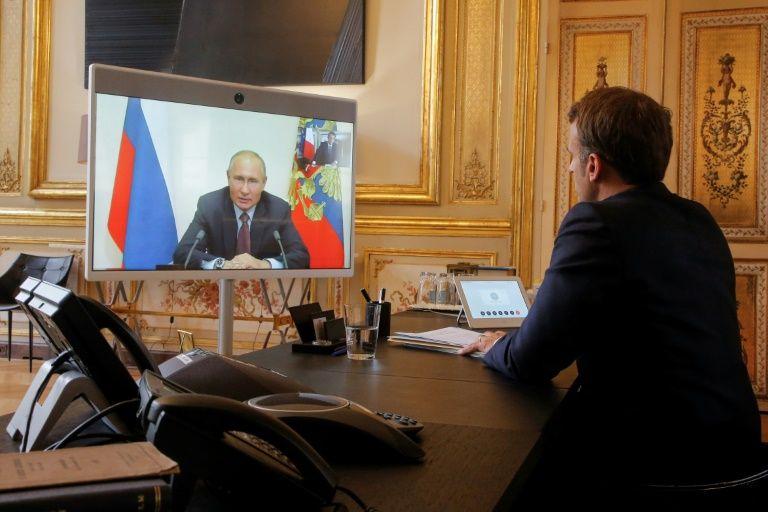 Macron 'confident' of progress in Russia ties after Putin talks