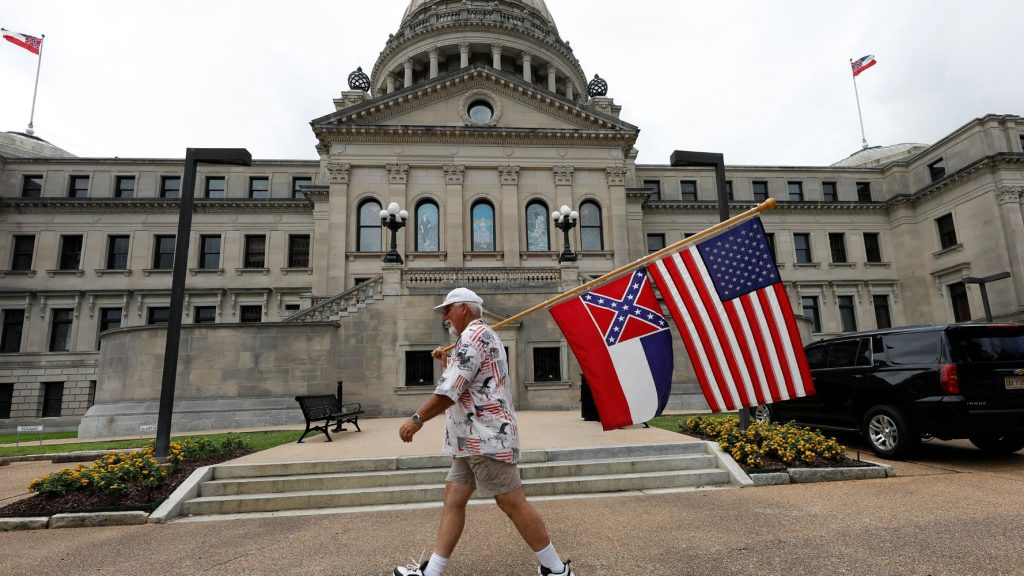 Mississippi Lawmakers Vote To Remove Confederate Symbol From State Flag