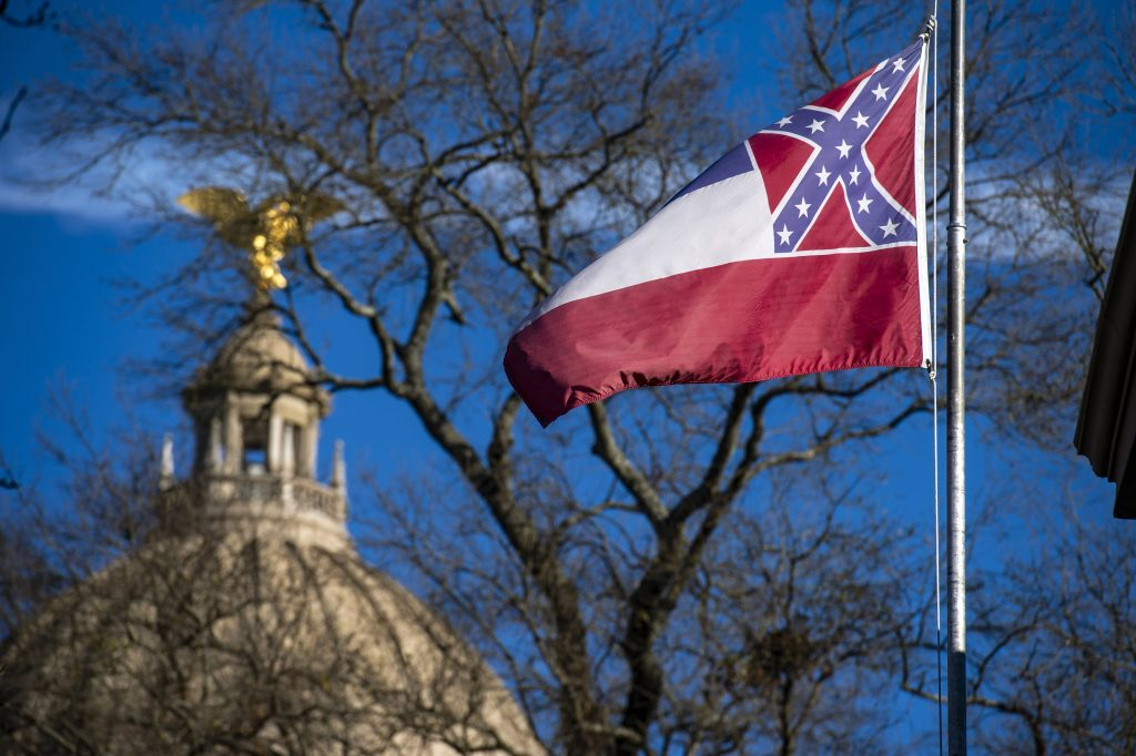 Mississippi lawmakers vote to remove Confederate icon from state flag
