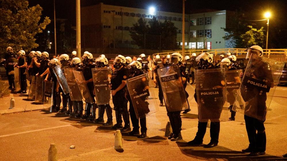 Montenegro arrests dozens after pro-Serb opposition rallies | Montenegro News