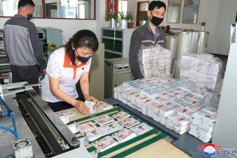 N. Korea says millions of leaflets readied against South