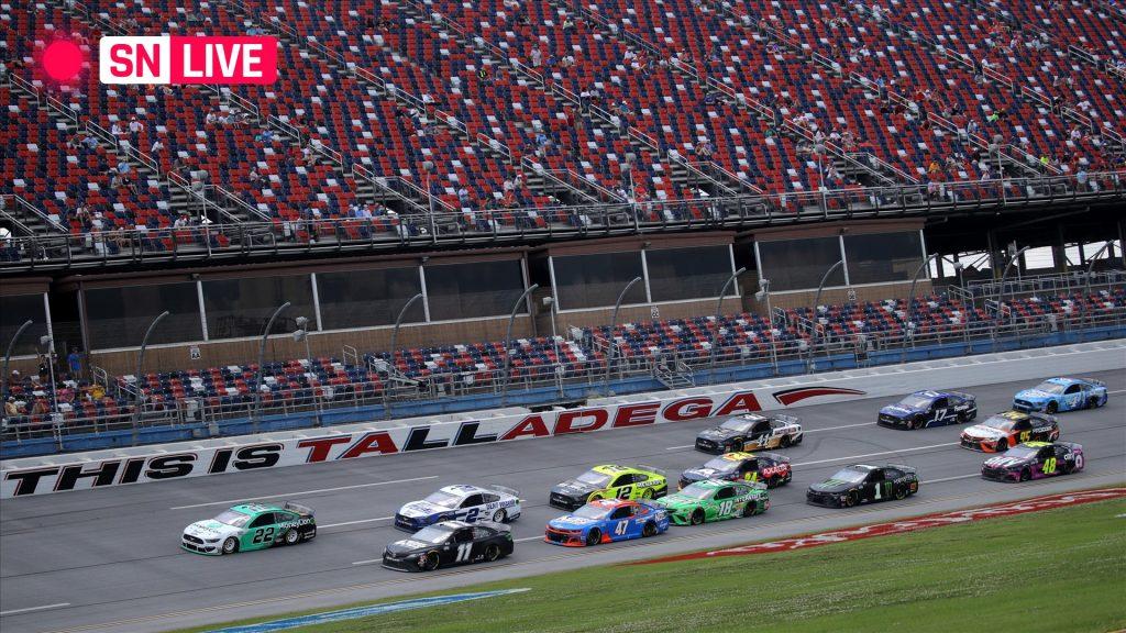 NASCAR at Talladega results: Ryan Blaney wins dramatic Geico 500; Bubba Wallace falls just short