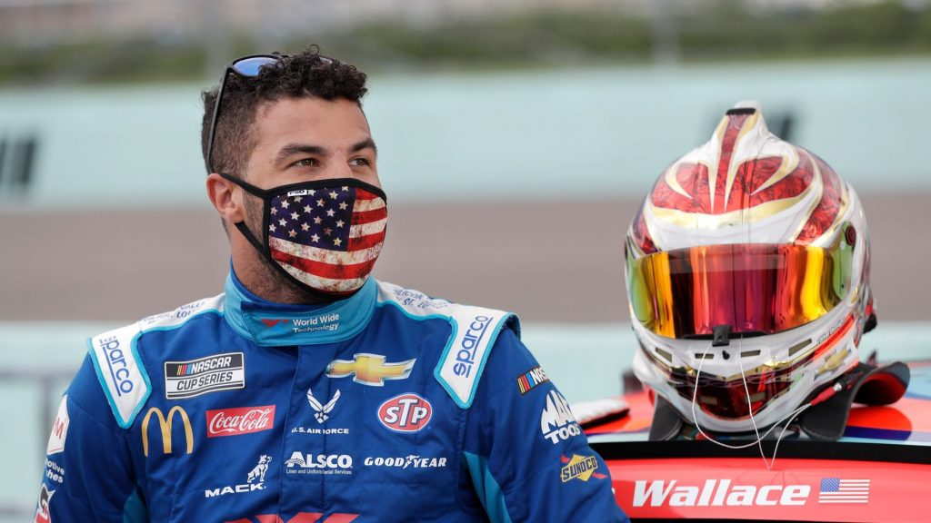 Noose Found In Garage Used By NASCAR's Bubba Wallace