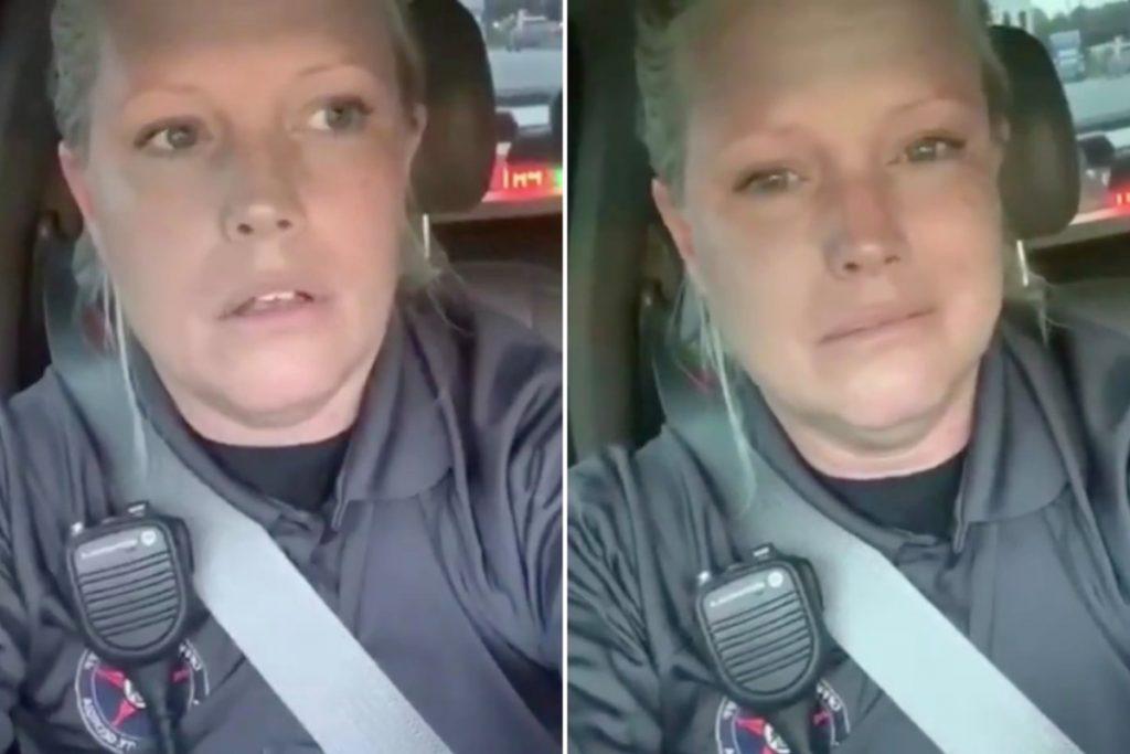 'Officer Karen' video goes viral after cop breaks down over McMuffin