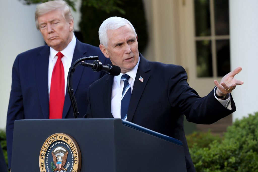 Pence defends holding Tulsa rally, says precautions in place