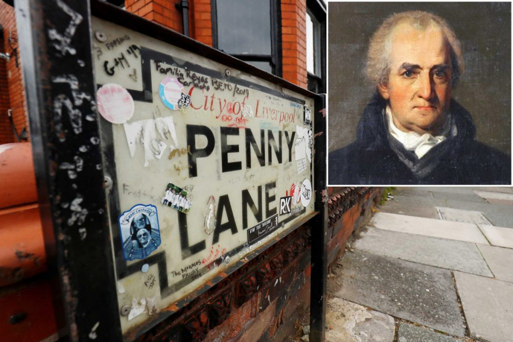 Penny Lane, street that inspired The Beatles, may be renamed over protest