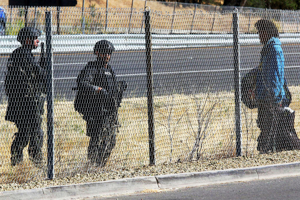 Shots fired in manhunt for California cop-shooter leads to lockdown
