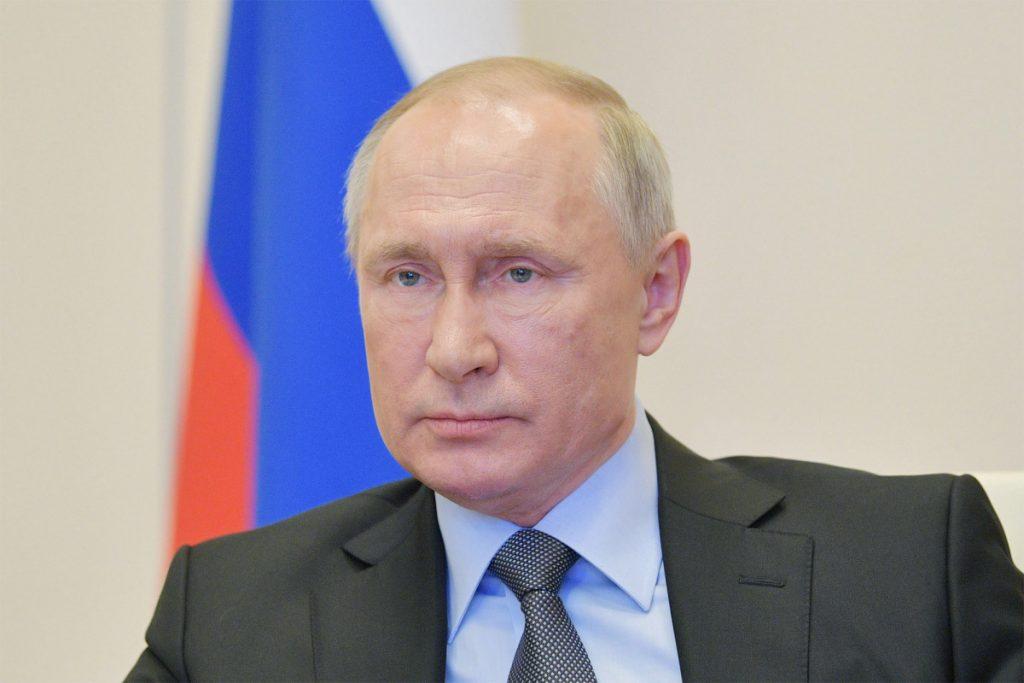Putin has own 'disinfection tunnel' to fight coronavirus