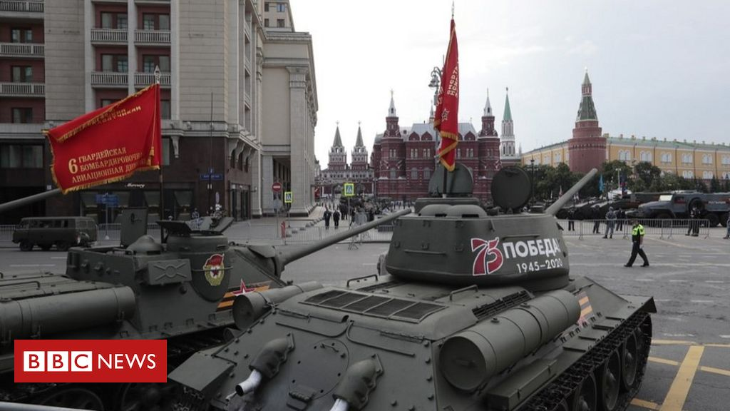 Russia holds World War Two victory parade in coronavirus shadow