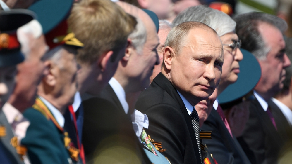 Russia's Putin hails Soviet role in WWII at military parade | Russia News
