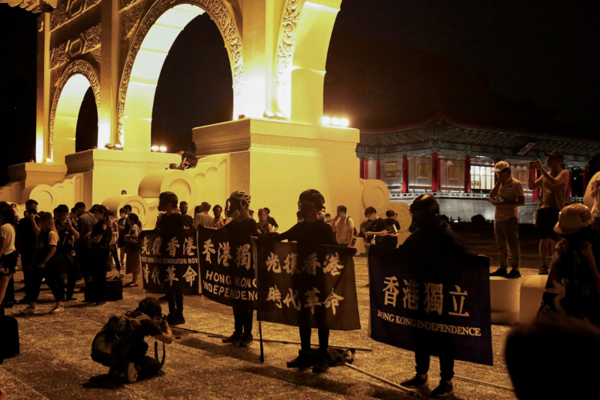 Taiwan is ready to come out of the Hong Kong protests