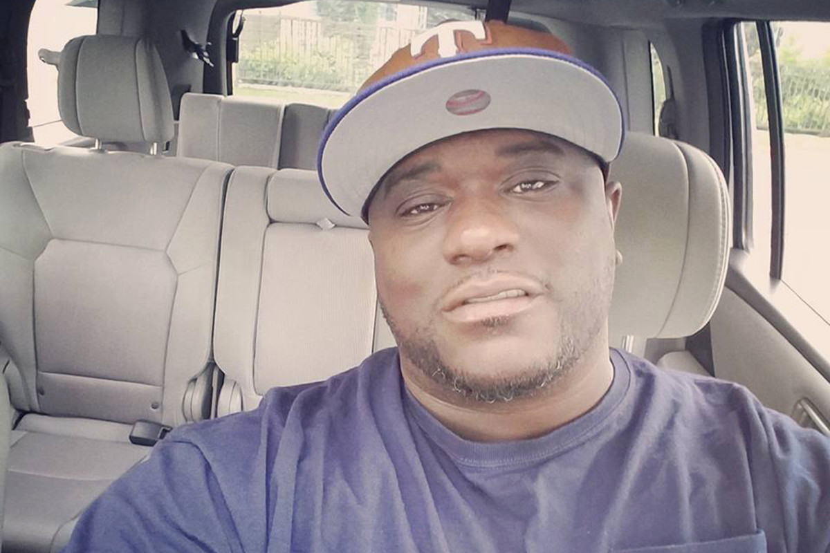 The black man died while saying, 'I can't breathe.'