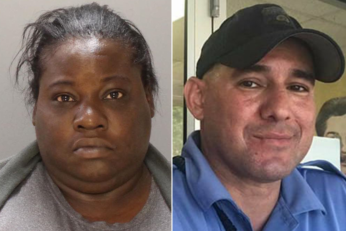 The woman reportedly ran towards Billy the cop during the George Floyd fight
