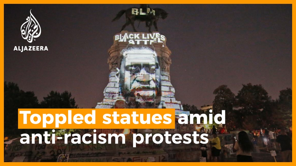 Toppled statues amid anti-racism protests | Europe