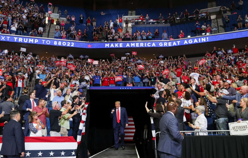 Trump 'furious' about 'underwhelming' crowd at Tulsa rally