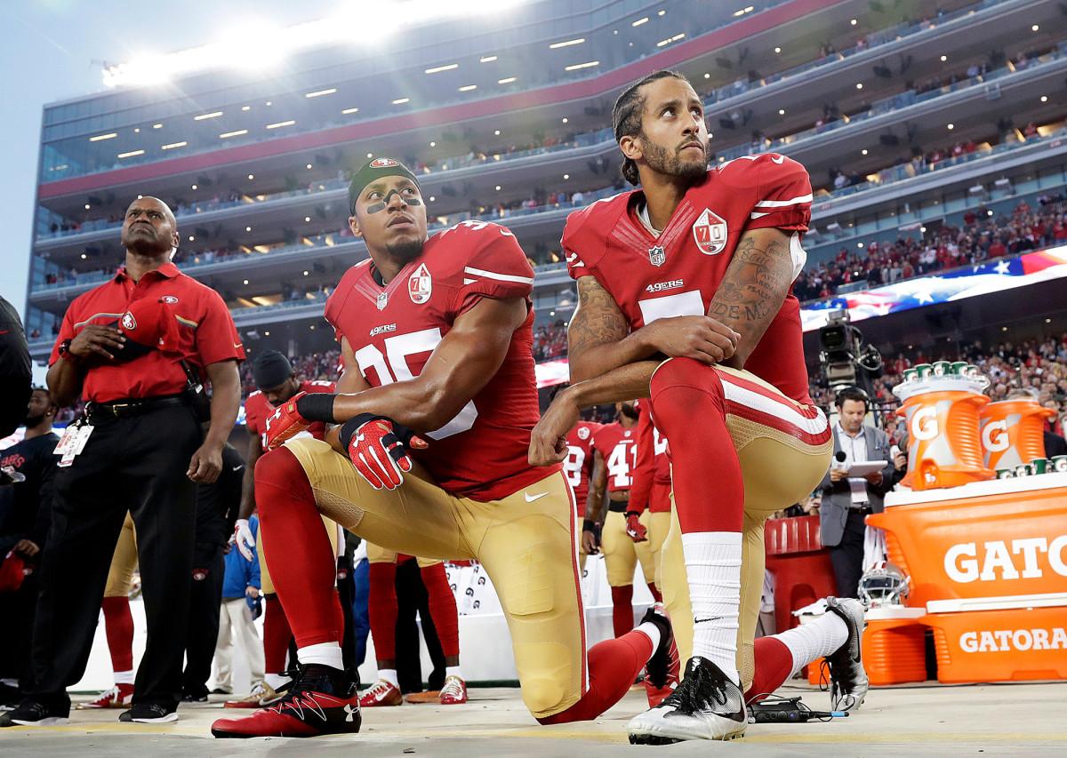 Trump is still stubborn against kneeling NFL players: WH Magazine sec