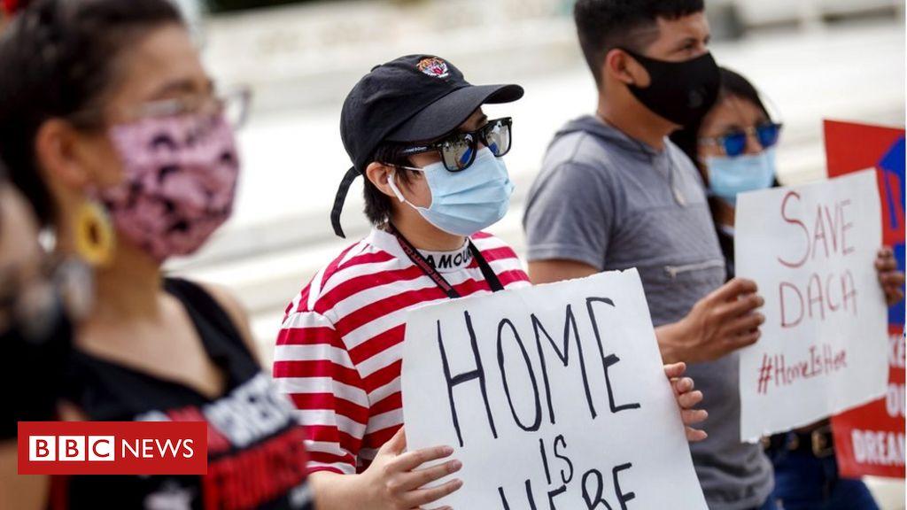Trump's bid to end Obama-era immigration policy ruled unlawful