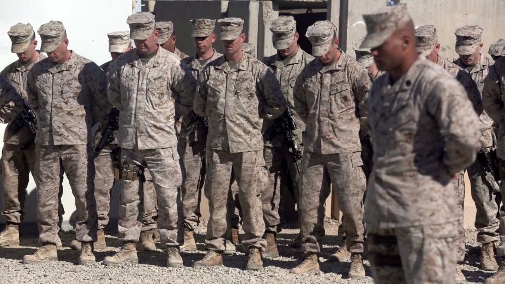 US has hit agreed troop-cut target of 8,600 in Afghanistan   Afghanistan News