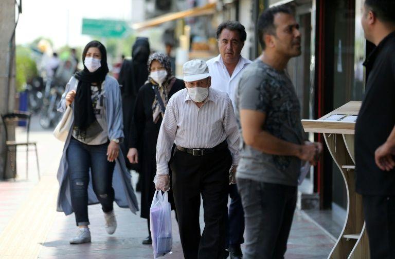Virus-hit Iran says masks compulsory from next week
