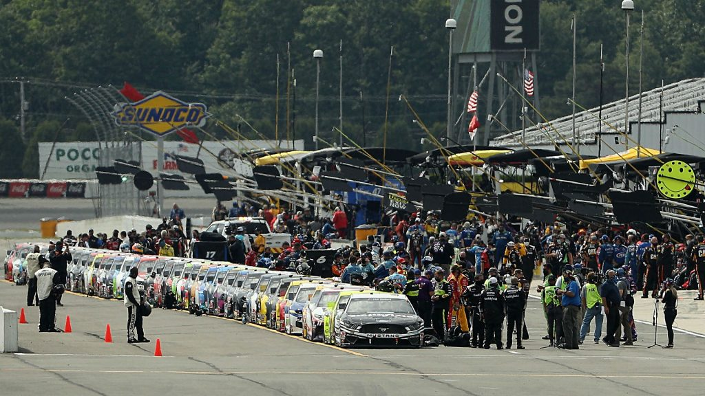 Who won the NASCAR race yesterday? Full results for Pocono race