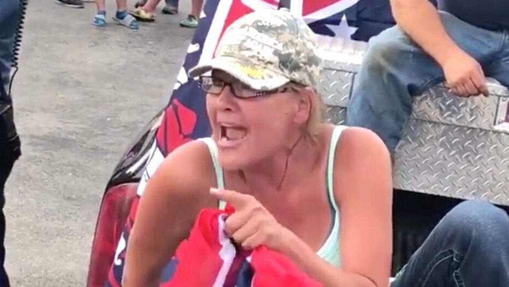 Woman Who Praised KKK Apologizes, Vows To Never Wave Confederate Flag Again