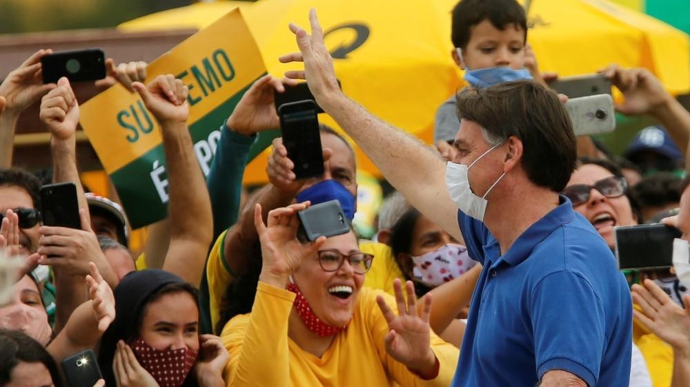 Brazil's Bolsonaro tested again for coronavirus: Live updates | News