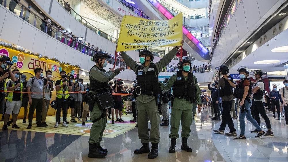 TOPSHOTS - HONG KONG - CHINA - POLITICS - UNREST